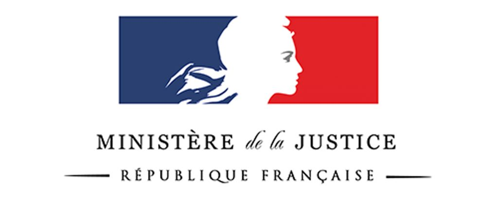 Ministère de la Justice, République Française.